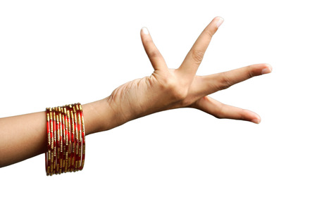 bangles hand: Womans hand with bangles LANG_EVOIMAGES