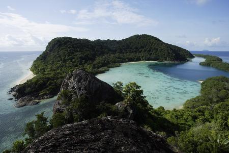 Tropical island in Indonesia