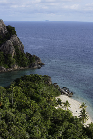 Tropical island in Indonesia Stock Photo