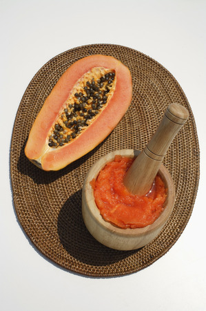 papaya and natural papaya facial