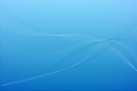 wave: Blue Background
