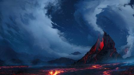 erupt: Volcano