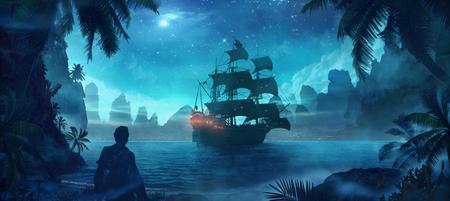 Pirate Standard-Bild