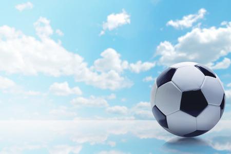 soccer: Bal?n de f?tbol