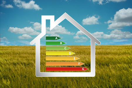 norm: house eco Stock Photo