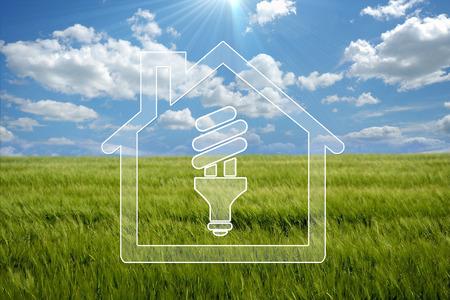 green technology: house eco Stock Photo