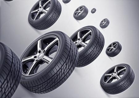 llantas: Antecedentes de Neumáticos
