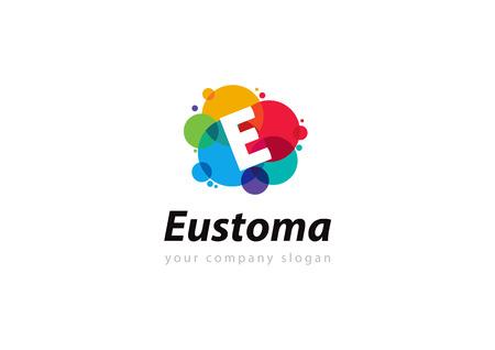 letter e: letter E Template for your company Illustration