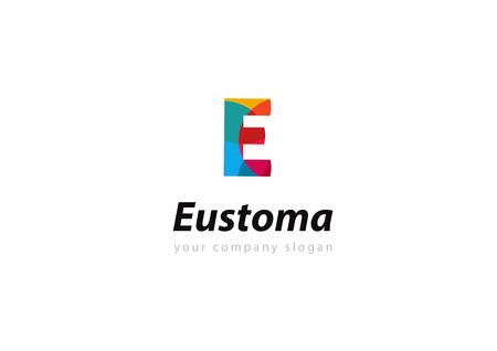 letter E Template for your company Ilustração
