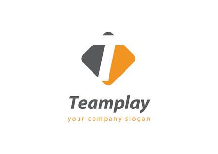 letter T Template for your company Ilustração