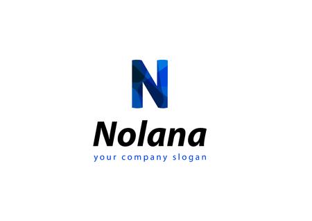 letter N Template for your company Ilustração