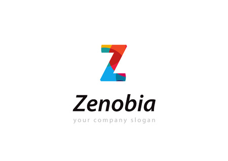 letter Z Template for your company