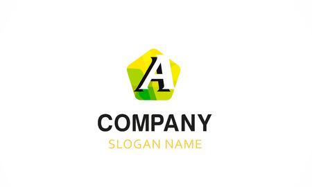 letter A Template for your company
