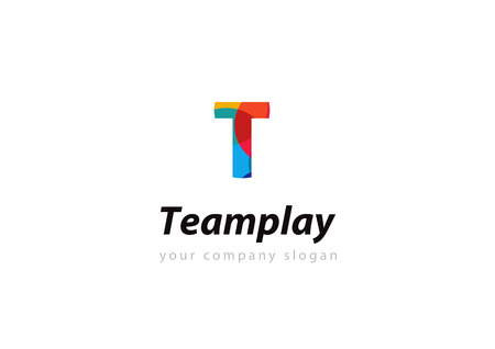 letter T Template for your company Illustration
