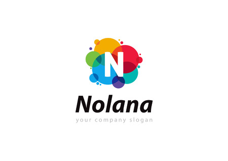 letter N Template for your company Illustration