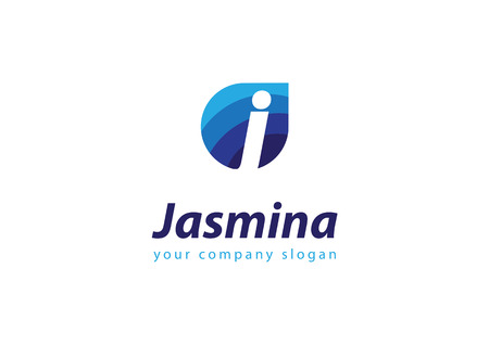 letter J Template for your company Illustration