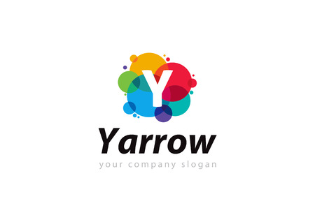 letter Y Template for your company Ilustrace