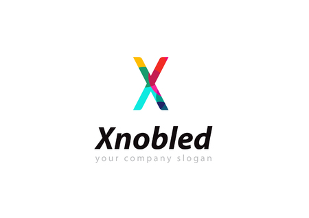 letter X logo Template for your company