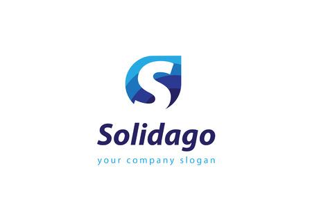 Buchstaben S-Logo-Vorlage für Ihr Unternehmen