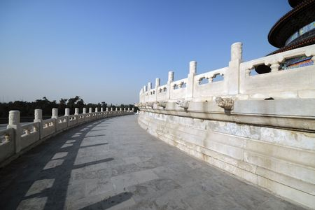 Sculpture of Temple of Heaven (TIAN TAN) - Wonder of Chinese Architecture photo