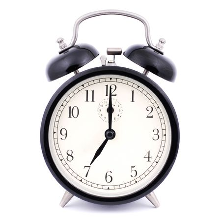 7: 00 High Detail Traditional Alarm Clock