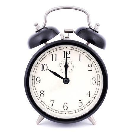 10: 00 High Detail Traditional Alarm Clock Stock Photo - 4884171