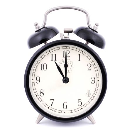 despertador: 11: 00 Alto Detalle Despertador tradicional