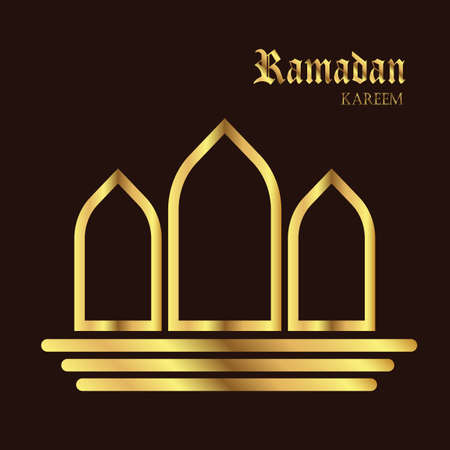 ramadan kareem persian symbol background