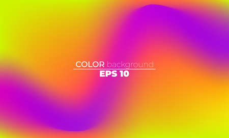 Abstract blurred gradient mesh background in bright summer colors. Colorful smooth. Easy editable soft colored vector illustration, Suitable For Wallpaper, Banner, Background, Card, Book Illustration, 矢量图片