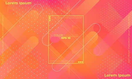 Minimal geometric background. gradient shapes composition. Applicable for gift card,  Poster on wall poster template,  landing page, ui, ux ,coverbook,  baner, social media posted