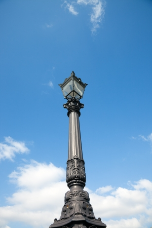 Old Lamp post on Pont Neuf  photo