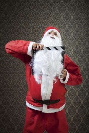 Santa invades Hollywood in a funny way. photo