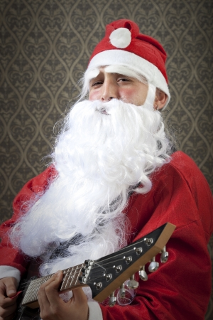 Santa will rock your new year. photo