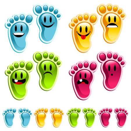 Stinkende voeten, Smiley voeten!