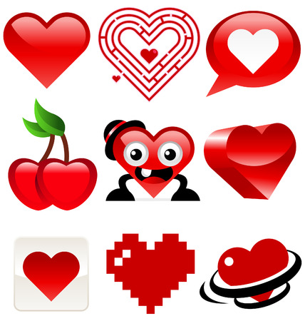 Heart Design Stock Vector - 8504972