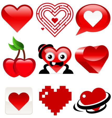 Heart Design Stock Vector - 8504972