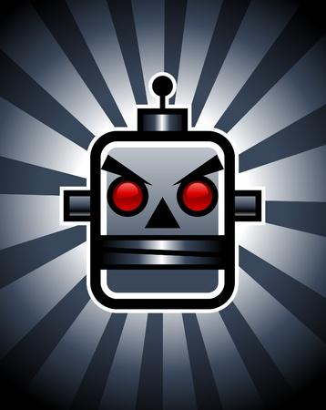evil: Evil Retro Robot