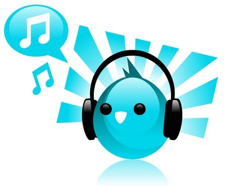 blue bird: Music Blue Bird