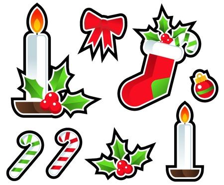 holiday: Christmas Holiday Icons
