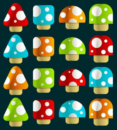 Champignons magiques Mini