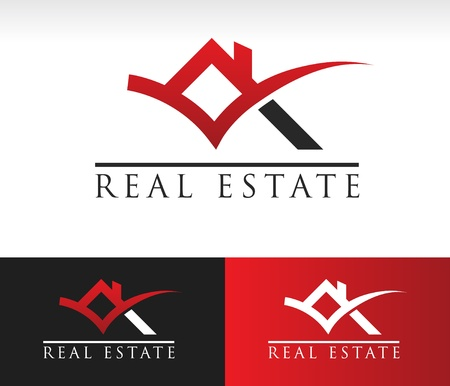 real estate: Real Estate House Roof Icon