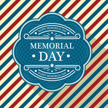 Memorial day patriotic background