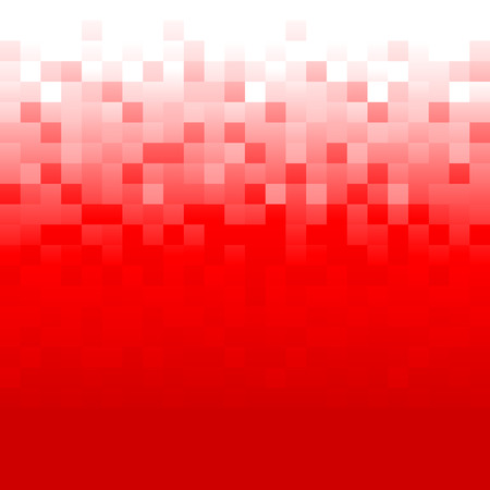 Red background with pixels