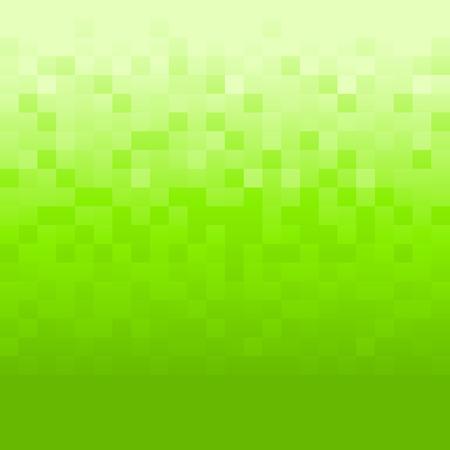 pixels: Green background with pixels
