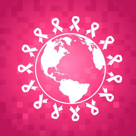 Breast Cancer Awareness Illustratie