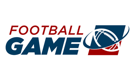 American Football Logo Icon