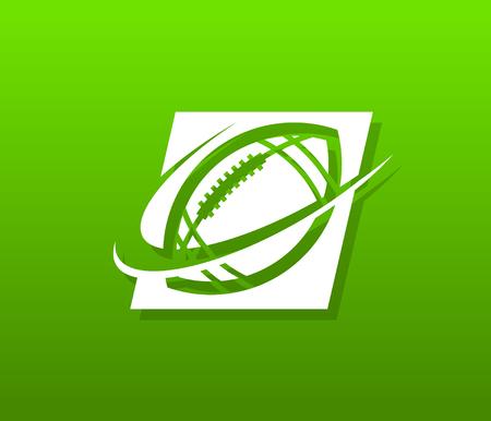 Voetbal pictogram ontwerp.