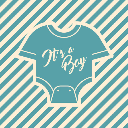 Blue Baby Shower Invite Greeting card