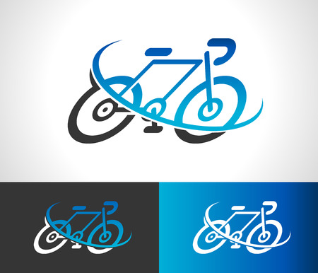 Bicycle bike logo icon symbol