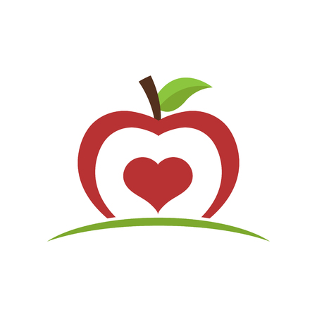 Healthy Food Apple Icon
